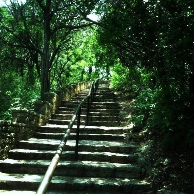 100 steps in Austin, Texas